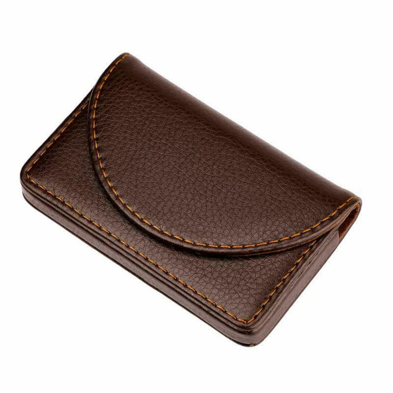 Maxgear Leather Business Holder Business With Coff