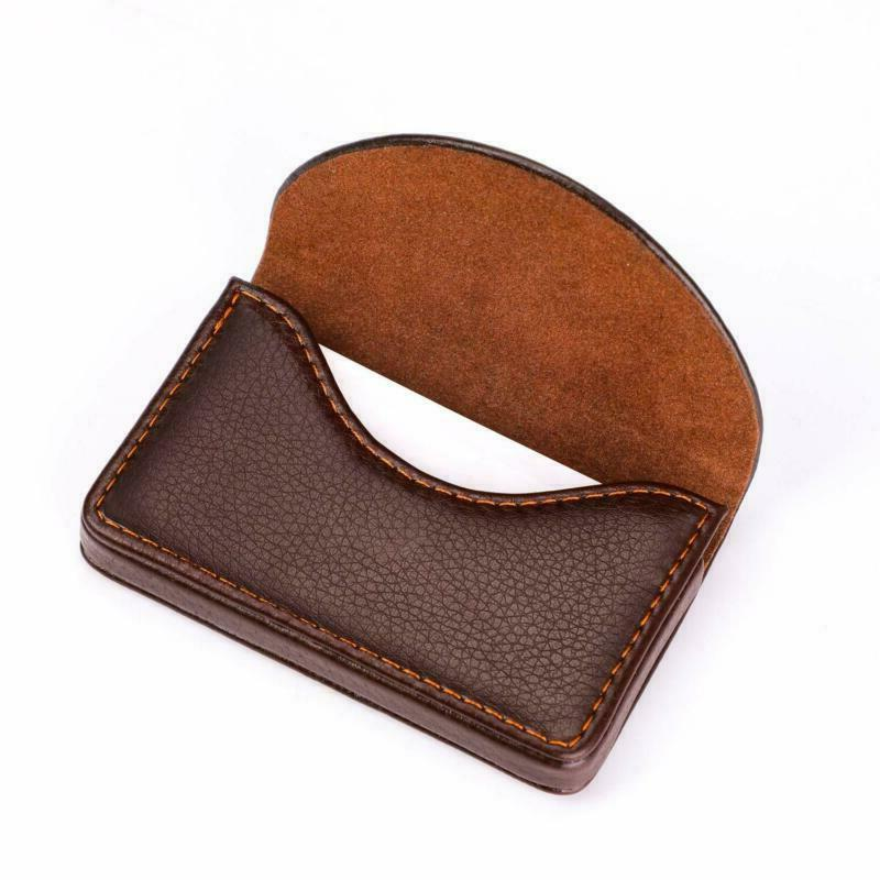 Maxgear Leather Business Card Holder With