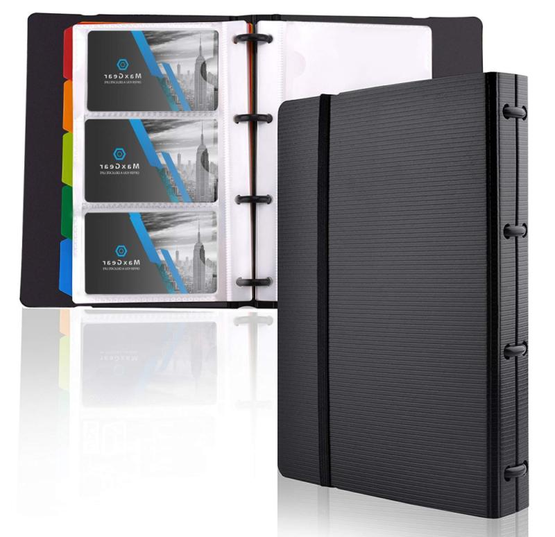 maxgear professional business card holders book holder name