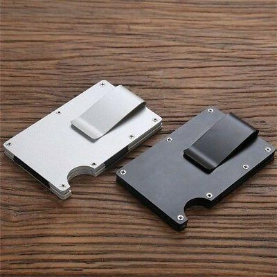 Men's Slim Card Holder Case Purse New