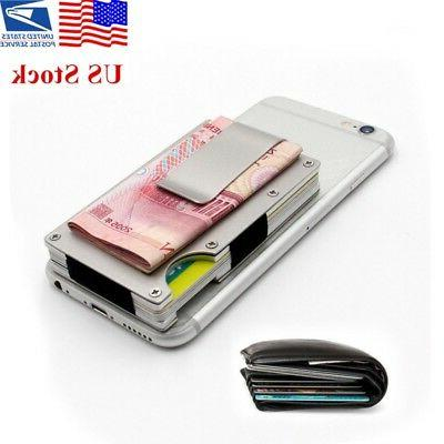 men s aluminum magic money clip slim