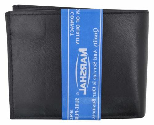Men's Leather Multi Credit Holder 2 Wallet