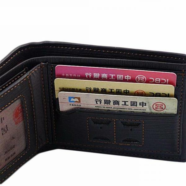 Men's Card ID Clutch