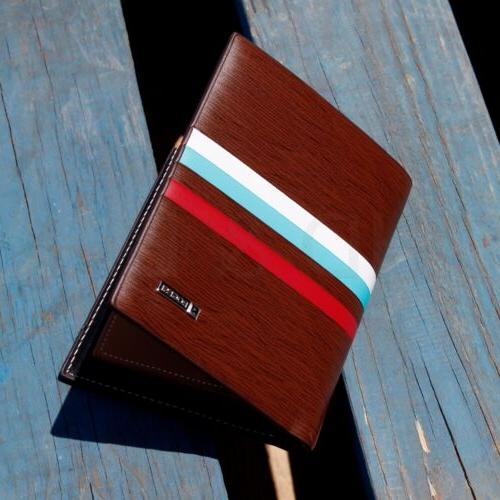 Men's Leather Bifold Card Billfold