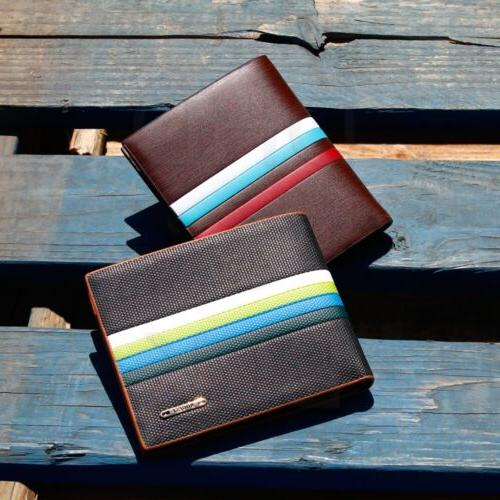 Men's Card Wallet Billfold