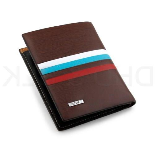 Men's Card Holder Billfold Slim