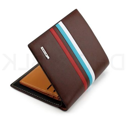 Men's Leather Card Billfold