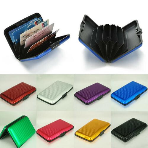 Men's Women Clutch Wallet ID Business Credit Card Holder Pur