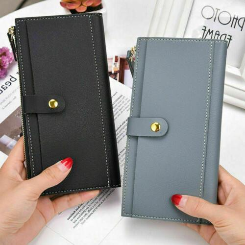 Men Genuine Pocket Business ID Credit Card Case