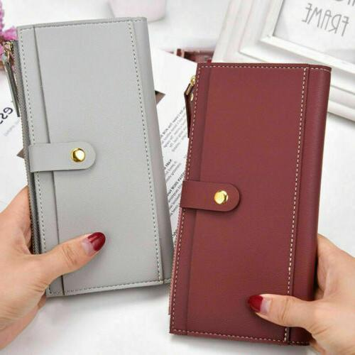 Men Genuine Leather Pocket ID Card Holder