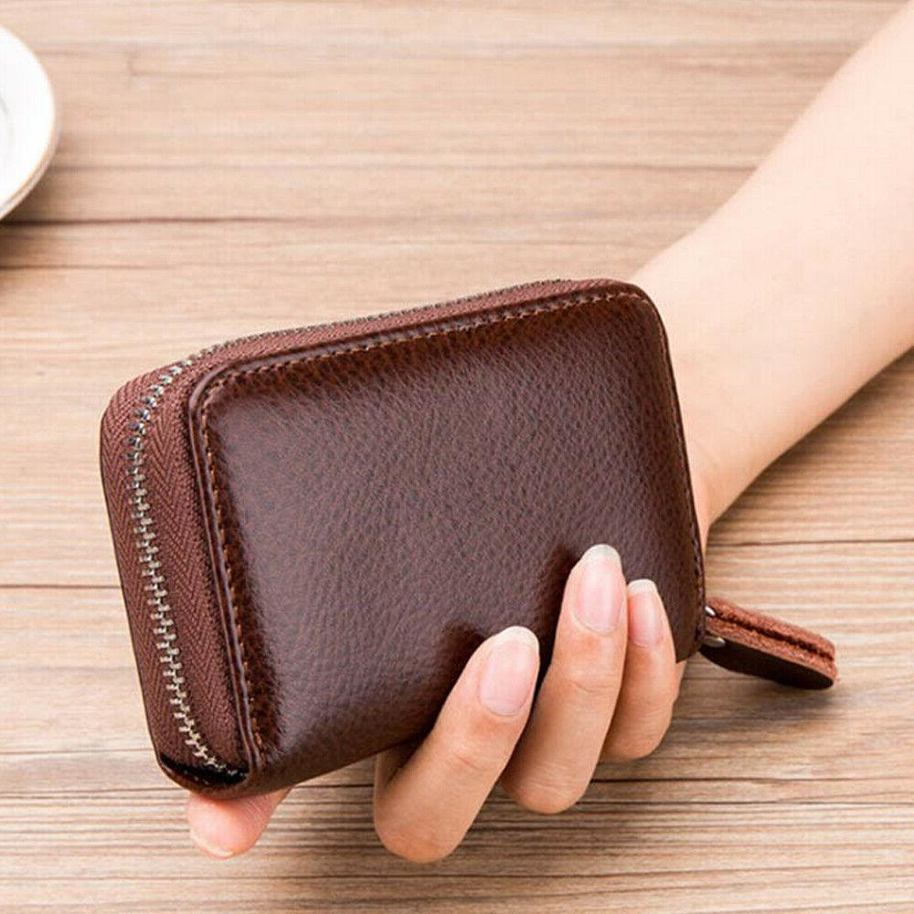 Men Women Wallet Credit Blocking US