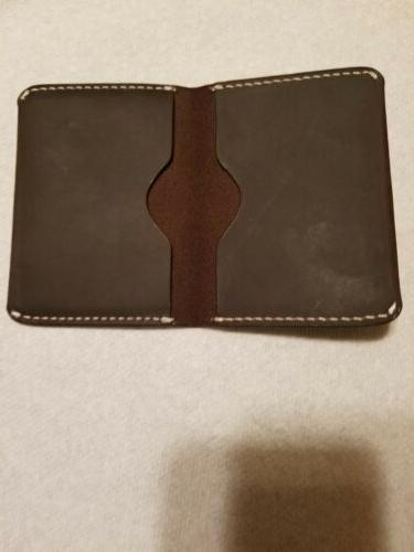 MEKU Mens Leather Wallet Holder