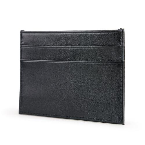 Men's Slim Card Holder Front Wallets Credit Pocket Thin