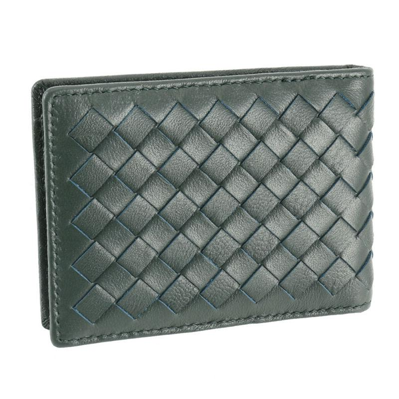 Mens Soft Leather ID Wallet Card Holder Business Purse