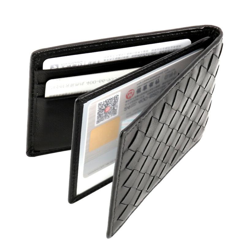 Mens Quality Leather Card Holder Business