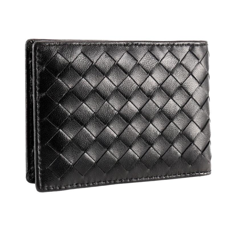 mens luxury soft quality leather id wallet