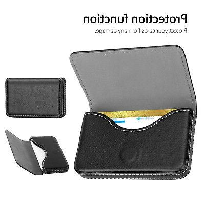 Mens Business ID Case Wallet Shut