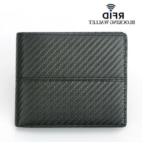 rfid blocking men s leather card holder