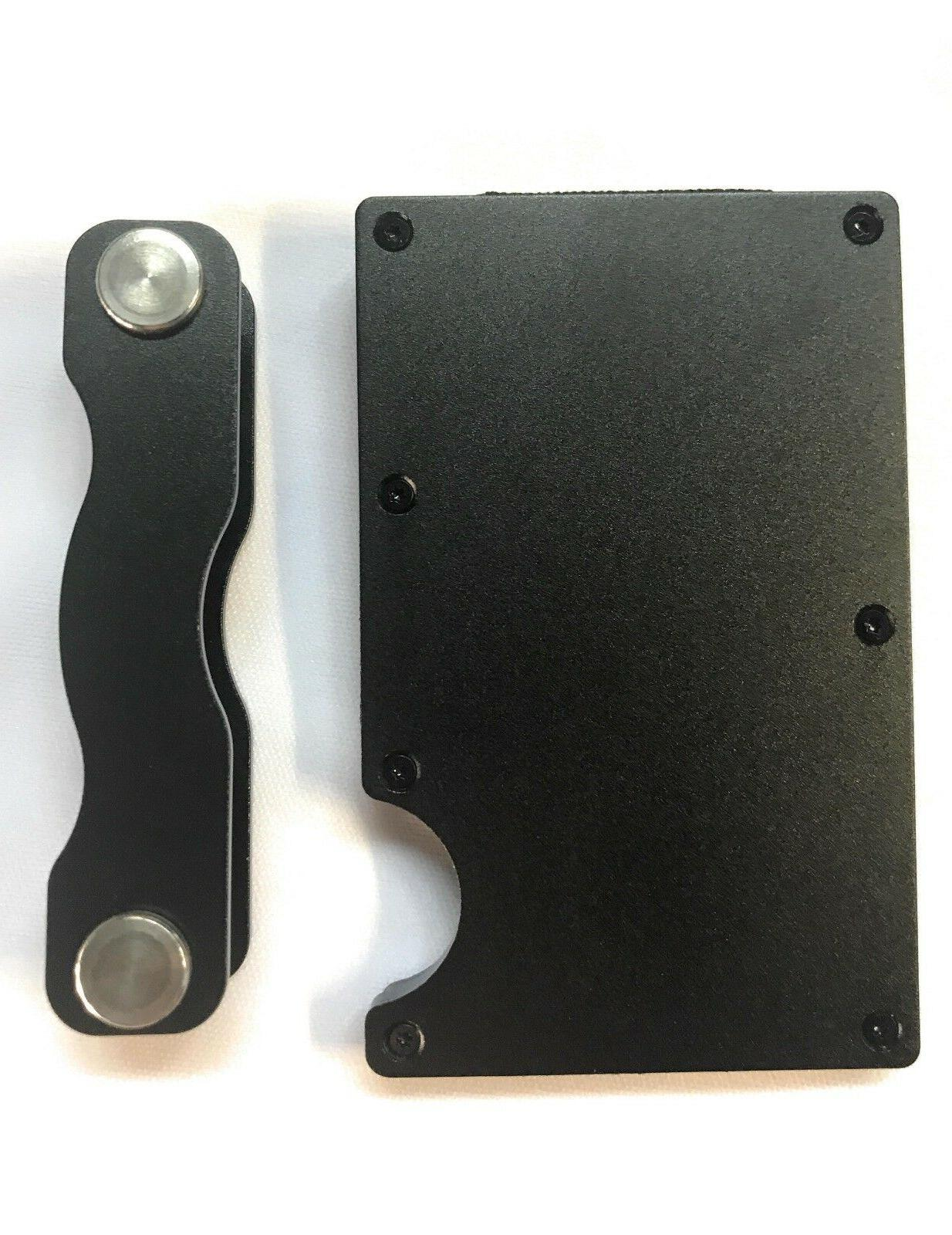 Minimalist Front Blocking Slim with Key Holder and Clip