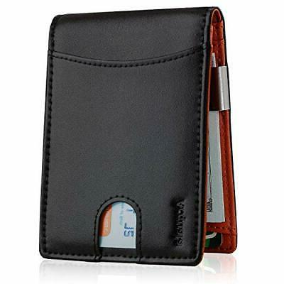 money clip front pocket wallet slim wallets