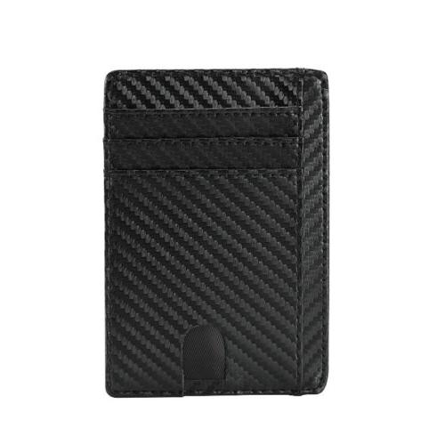 New Genuine Leather Slim Card For Men - Blocking