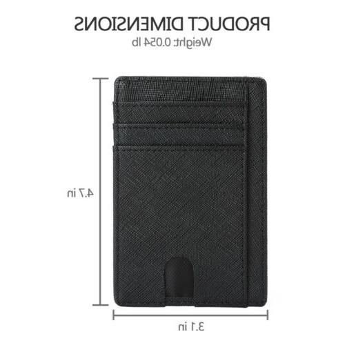 New Leather Card Wallets For Men - Blocking