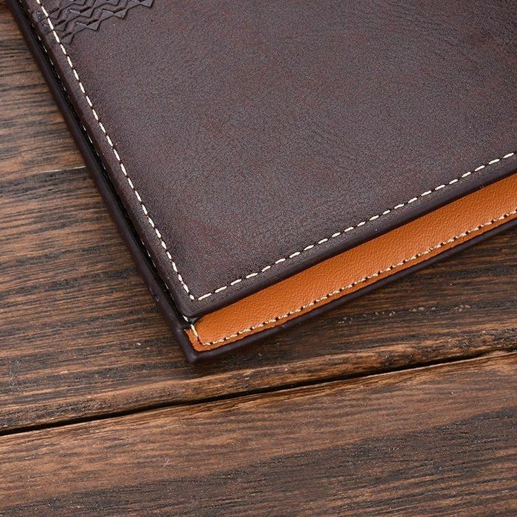 New Leather ID Holder Wallet