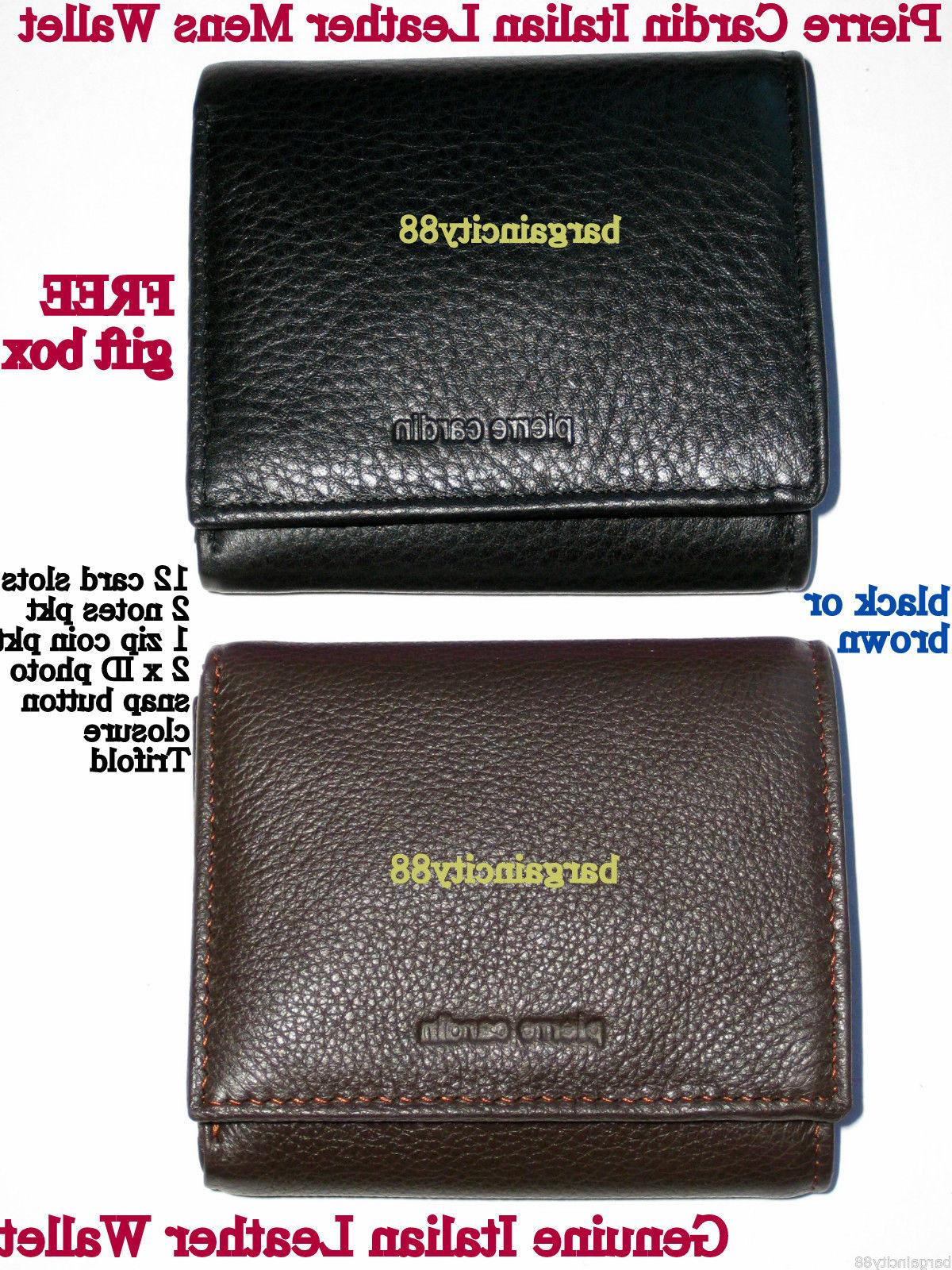 New PIERRE Leather Card Holder+Gift Styles