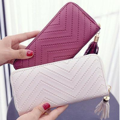 New Style Money Accessory Women Card Holder Bag Long Purse W