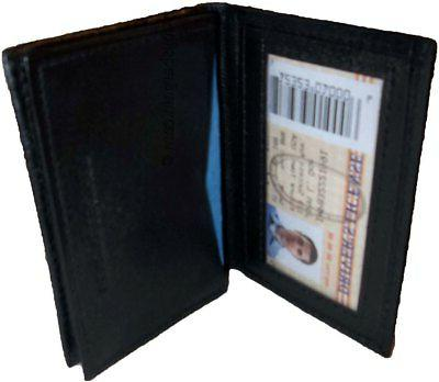 New men's Leather Business Credit ID card Holder case