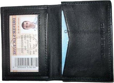 New men's Leather Business Credit Card card case BN