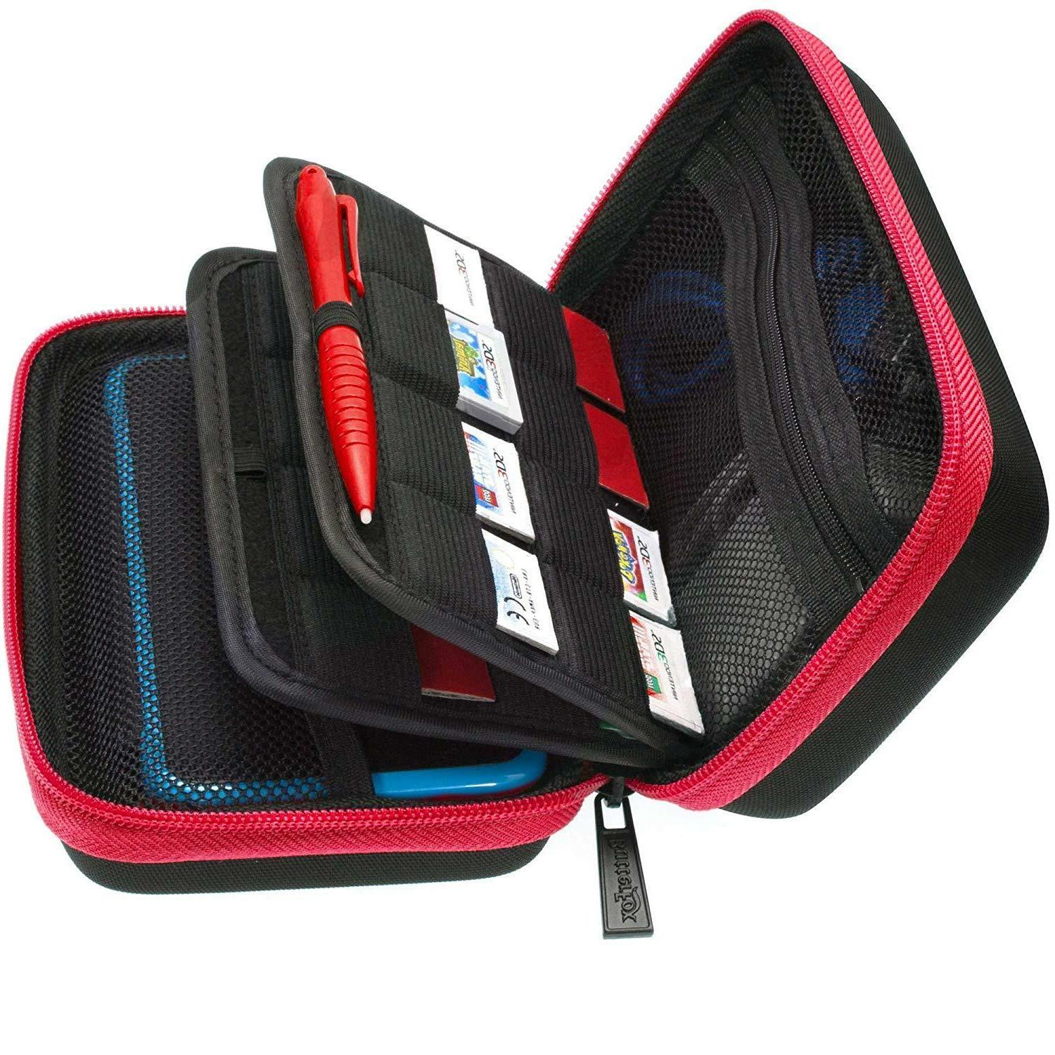 Nintendo XL Carry Case,Large Stylus, Fits Wall