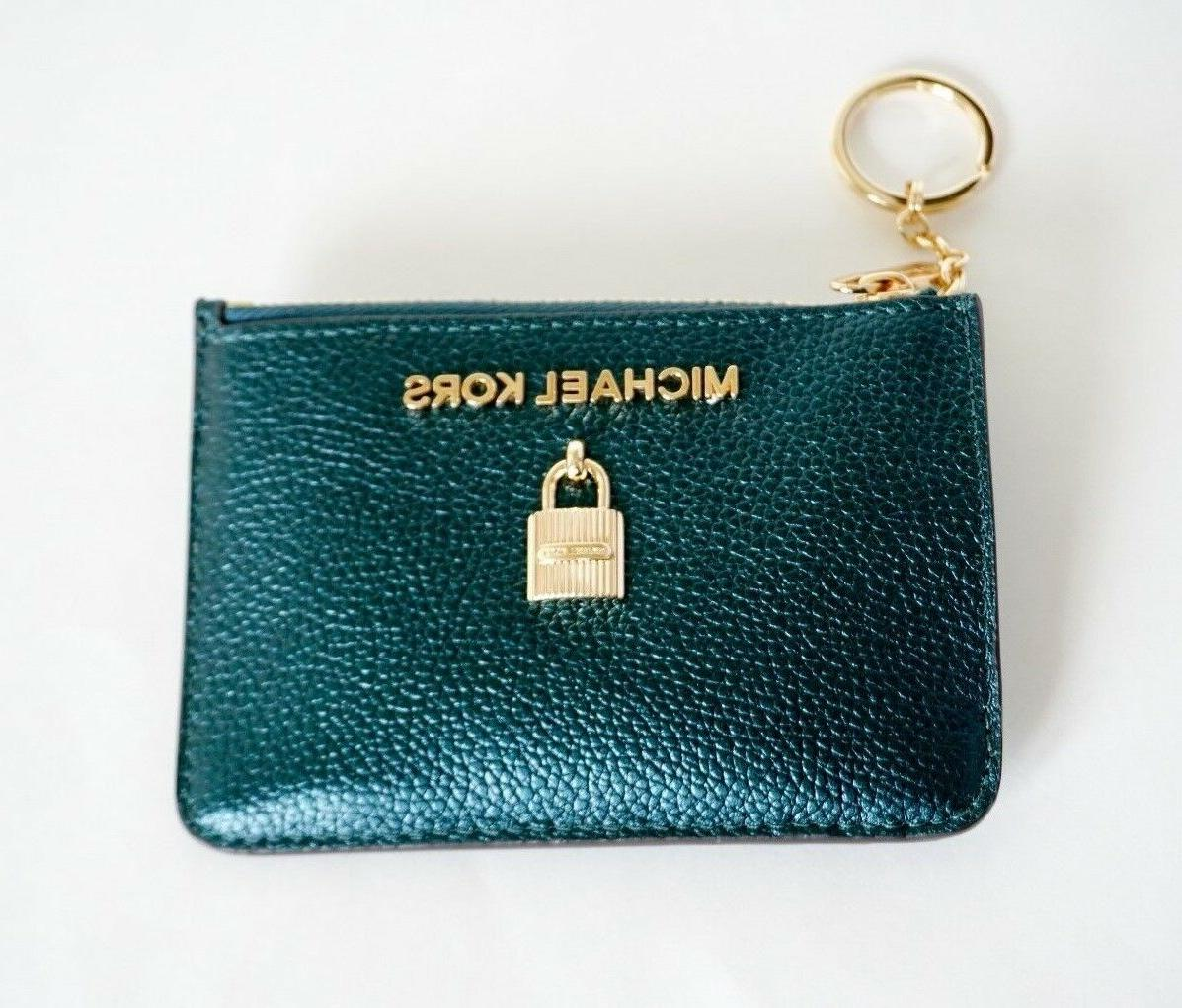 NWT TOP ZIP COINPOUCH ID HOLDER