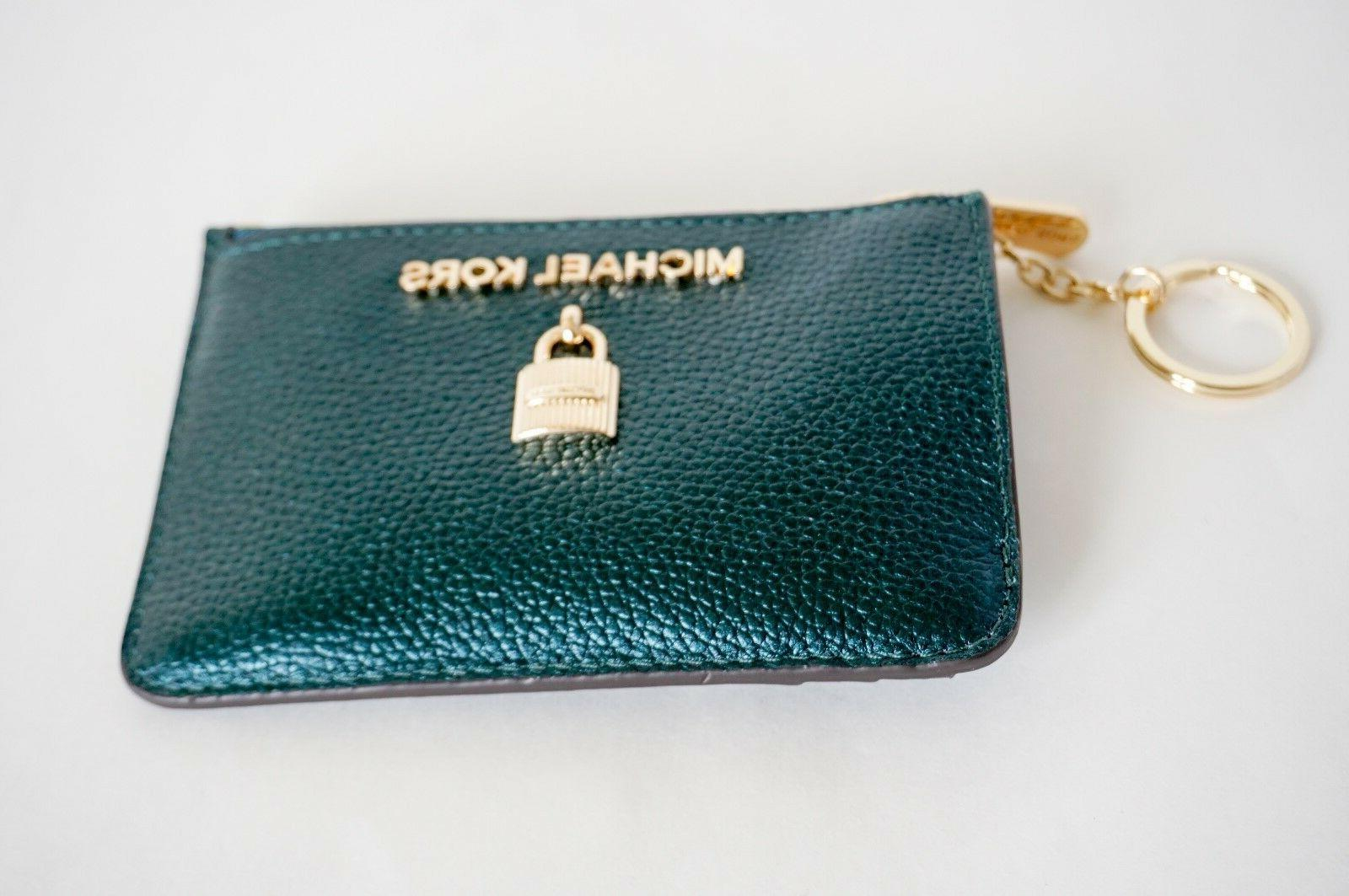 NWT KORS SMALL TOP COINPOUCH ID CARD HOLDER