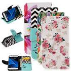 Patterned Flip PU Leather Case/Cover Pouch Stand Card Holder