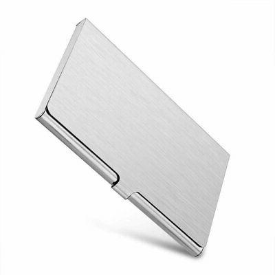 pocket aluminum steel and metal business card