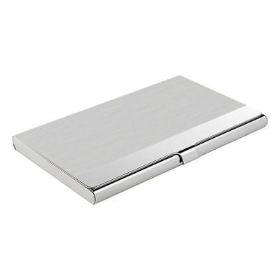 Pocket Stainless Steel & Metal Business Card Holder Case ID