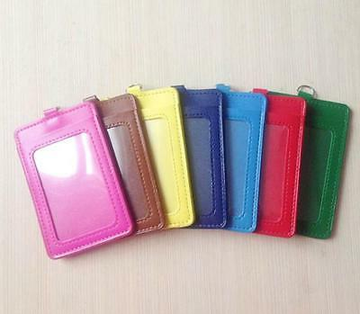 PU Leather Case Business Badge Card GY
