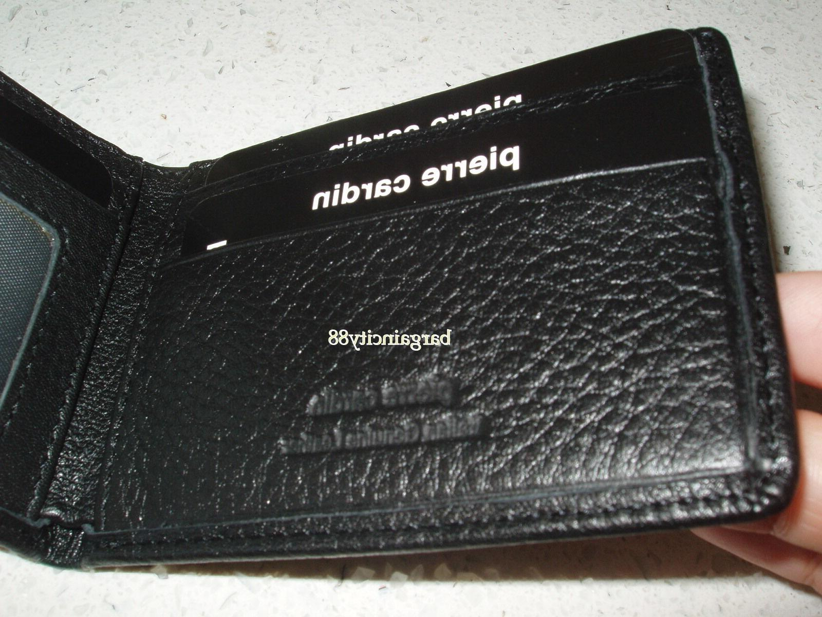Pierre Blocking-Fine Italian Leather Slim Wallet