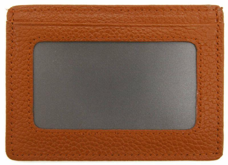 Deezomo Rfid Leather Credit Front Wallet