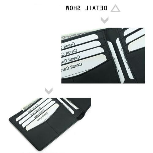 RFID Blocking Leather Carbon Holder