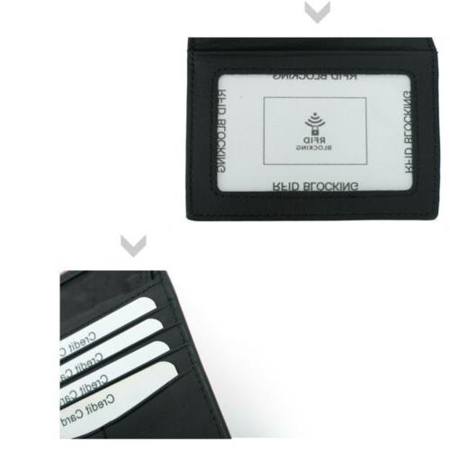 RFID Men's Leather Holder