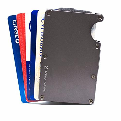 RFID-Blocking Minimalist Card Holder Credit