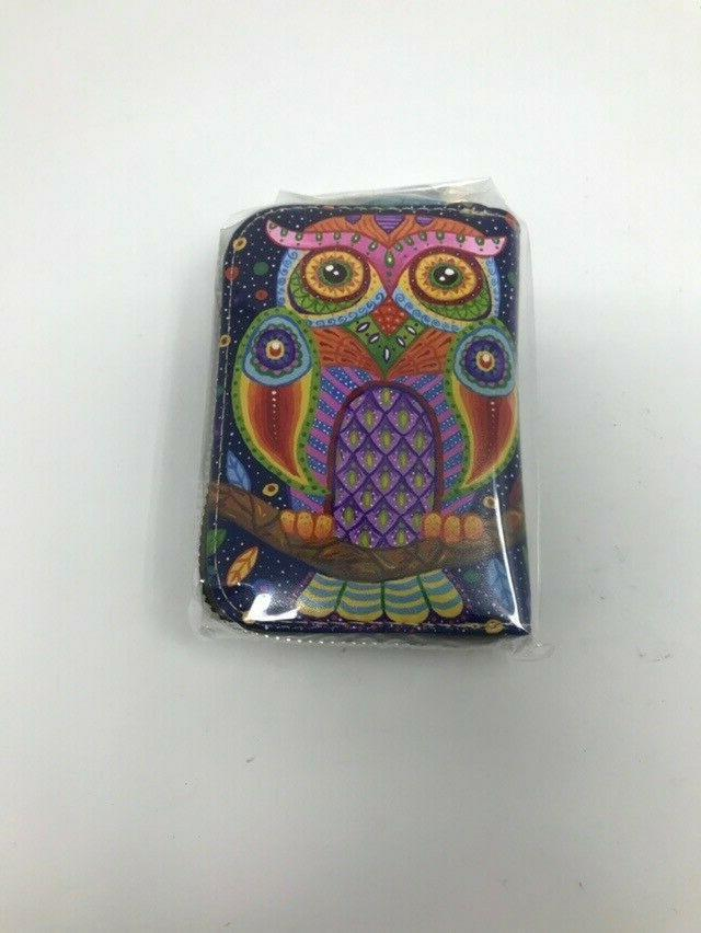 Aphison Holder Zippered Card Case BRAND NEW