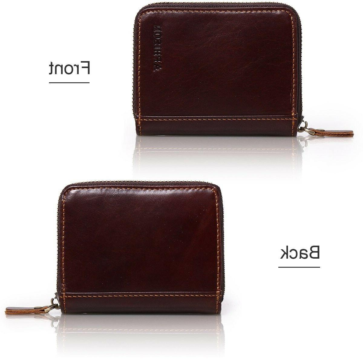 APHISON Leather Credit for Purse