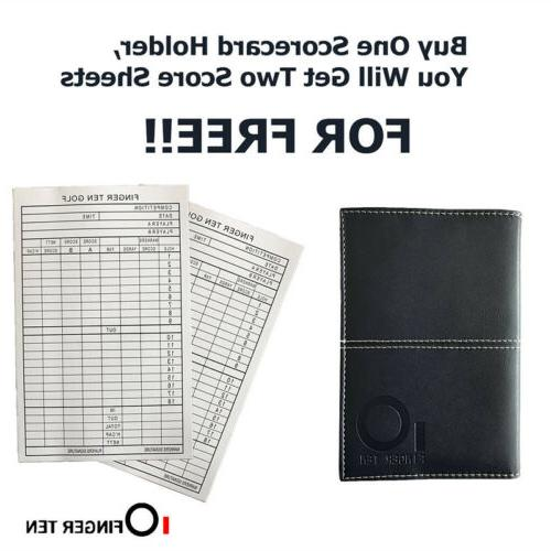 Score Card Leather PU Cover Score Sheets Gifts
