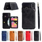 With Strap Wallet Leather Stand Card Holder New Case Cover F