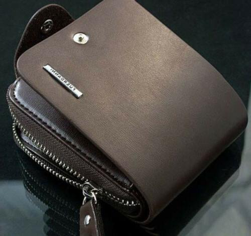 style men s leather bifold credit id