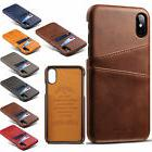Wallet Case Credit Card ID Holder Leather Phone Cover for Ap