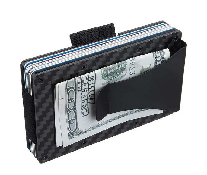 Wallet Minimalist RFID Thin Protection Security Credit